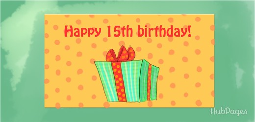 15th Birthday Wishes and Messages Collection | Holidappy
