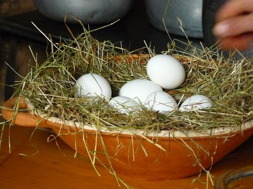 How many baskets do you have for your eggs? Are you spreading your eggs too thinly?