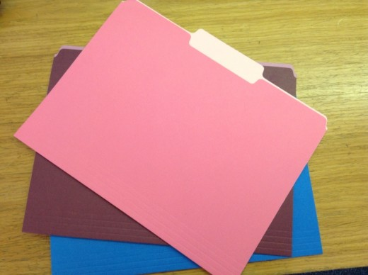 Color coding files will help you pull out the files you need quicker.