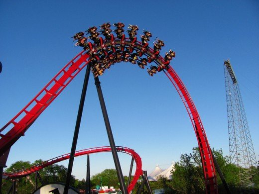 Great America has some of the world's coolest, cutting-edge coasters.