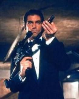 Timothy Dalton as James Bond in License to Kill