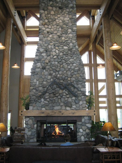 THAT is a fireplace!