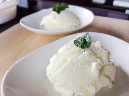 Lemon and Lime Ice Cream