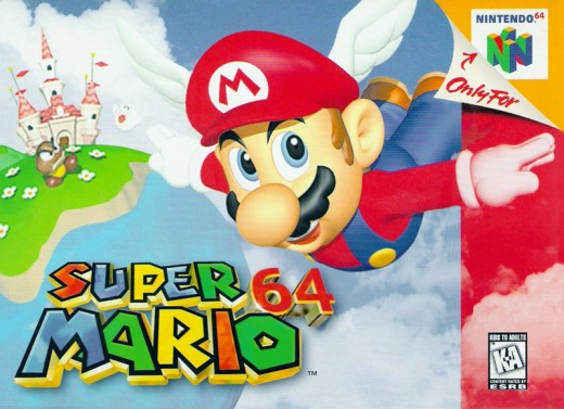 Super Mario 64 this game is a classic