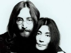 Lennon and Ono, in- love