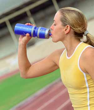Stay hydrated before, during, and after working out.