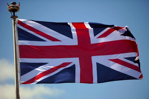 The union Flag remains flying  over Scotland after the independence referendum