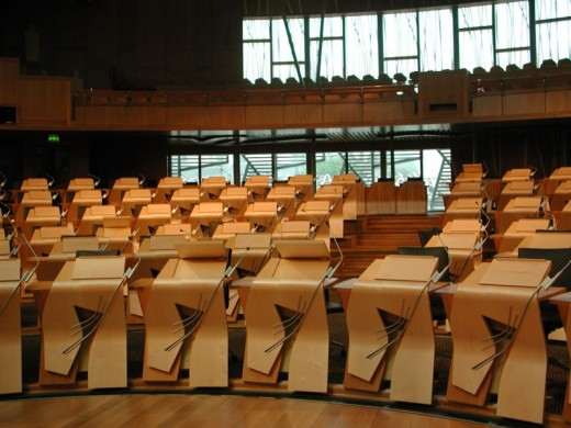 The seat of Power in Scotland