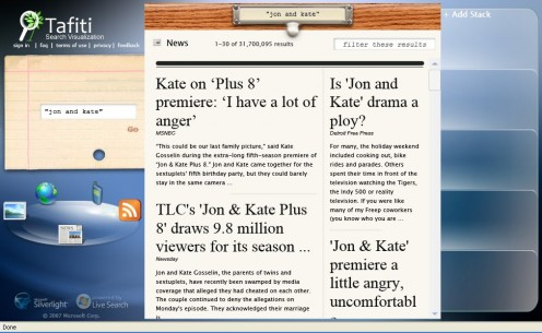 "News Search for ""Jon and Kate"""
