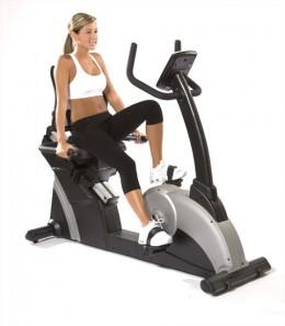 Stationary Recumbent Exercise Bike