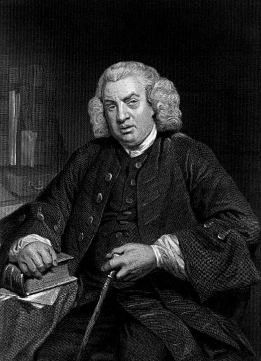 Samuel Johnson—born 1709 died 1784