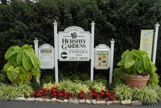 Entrance to Hershey Gardens