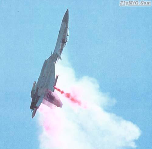 Sukhoi Cobra maneuvers