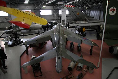 Harrier Thrust vectoring system
