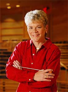 Alsop was officially made the first woman to head a major U.S. orchestra in 2007. But there continues to be a  shortage of prominent female conductors. Women have yet to attain  the power, prestige and astronomical pay scale of there male counterpart