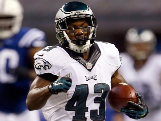Swiss-army knife Darren Sproles and the Eagles will take on the Redskins this weekend.