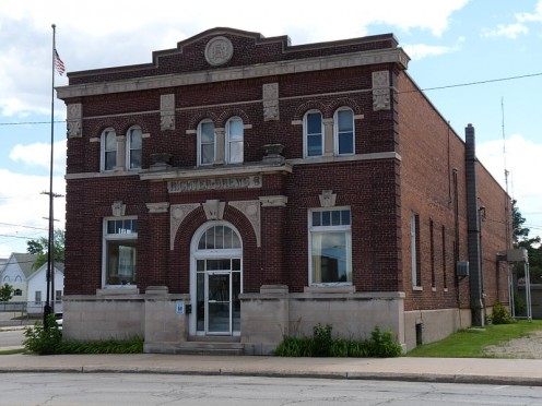 Richter Brewery Office Building in Escanaba, Michigan