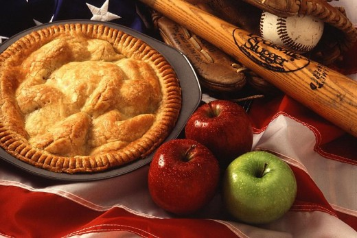 All American baseball and apple pie.