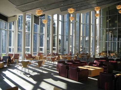 Gleeson Library Atrium