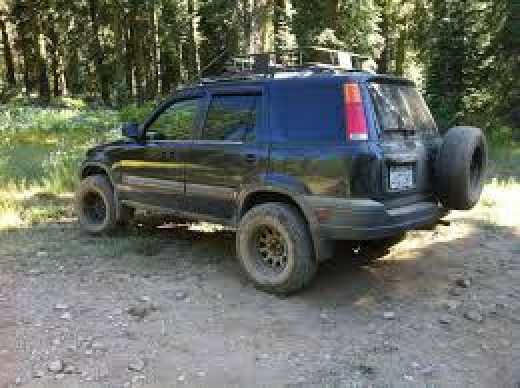 Lifted RD1 CRV