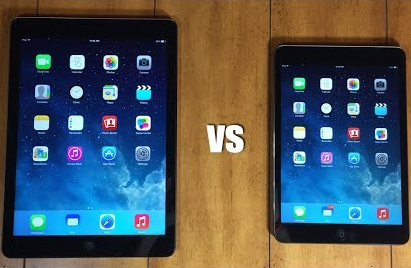 Difference Between iPad With Retina and iPad Air