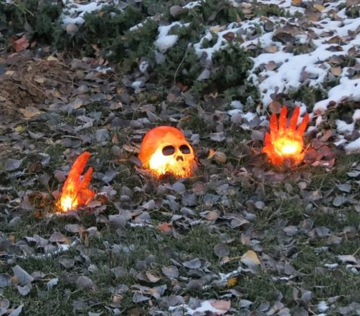 Skeletal Halloween Decoration