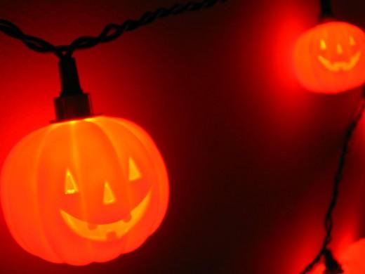 Halloween Pumpkin Lights Decor Ideas