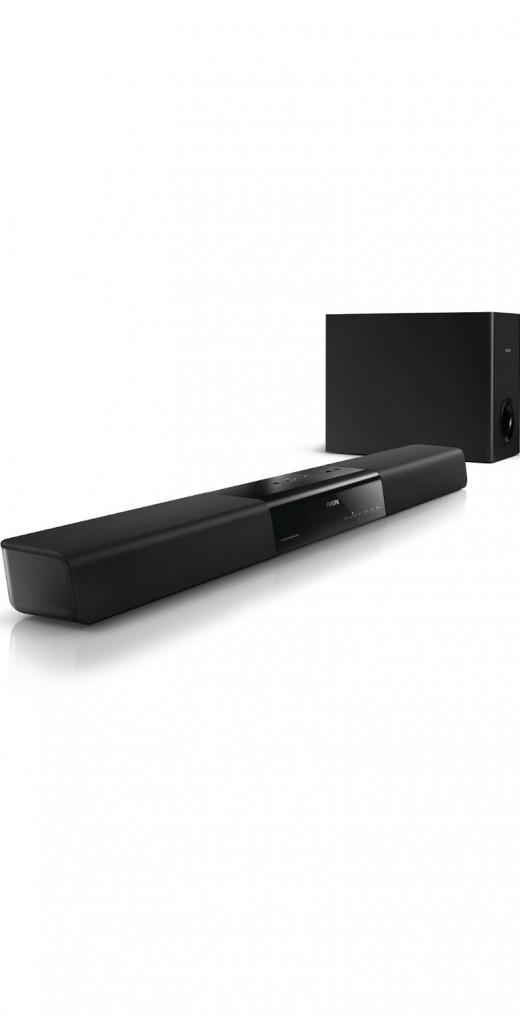 Philips HTL2160 bluetooth soundbar under 100