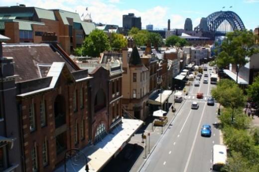George Street The Rocks Sydney