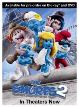 The Smurfs 2 DVD