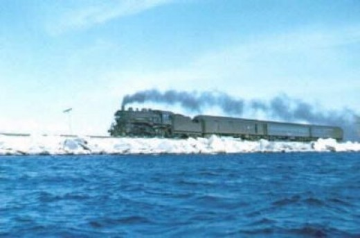 """Crossing Lake Champlain"""