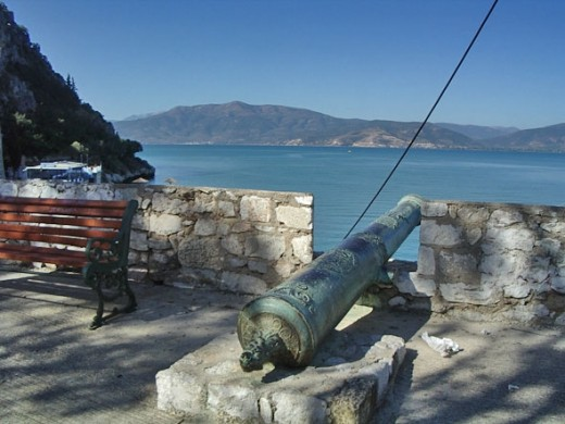 The next morning I took another stroll around the city. Venetian cannons point out to sea.