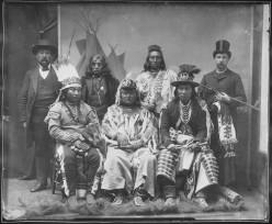 Umatilla Indians (plus two white men)