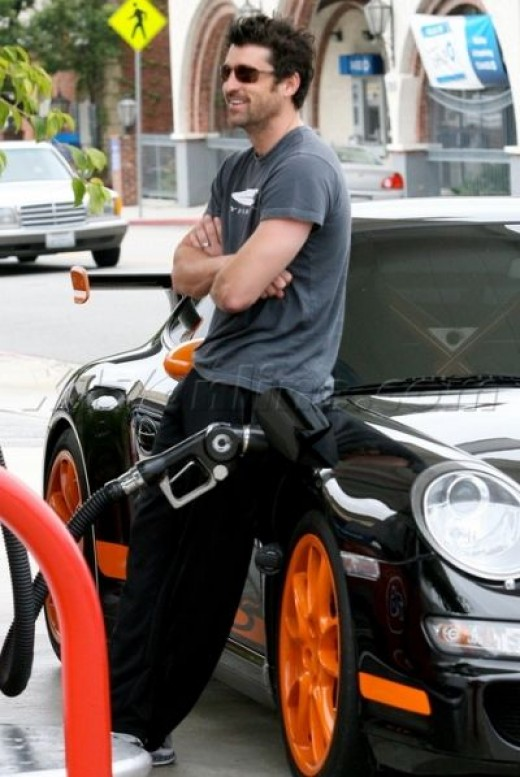 Patrick Dempsy and his GT3 RS