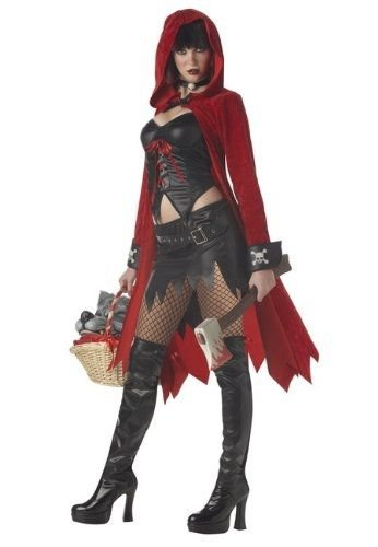 Goth Little Red Riding Hood Costume