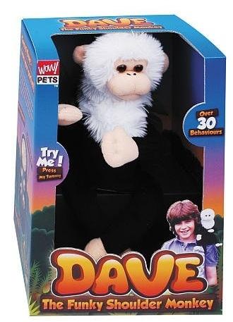 Dave The Funky Shoulder Monkey