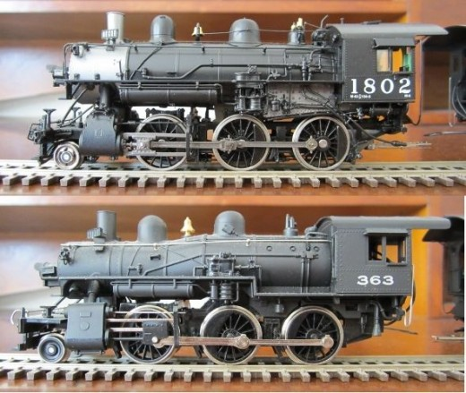 Tyco Shifter - affordable HO Scale steam engine