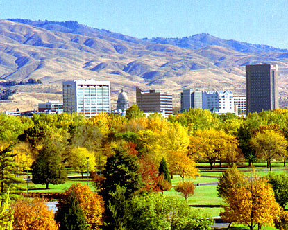 Boise, ID My hometown and outdoor play ground.