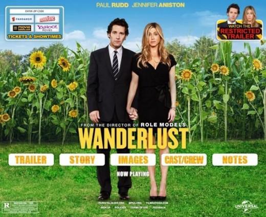 Paul Rudd and Jennifer Aniston Wanderlust