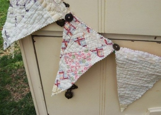 Quilt Crafts. Photo Credit:  TheEccentricLady on Etsy.