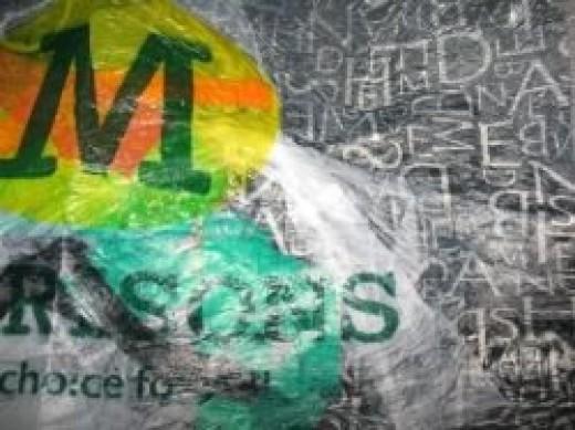 Layered Plastic Bag