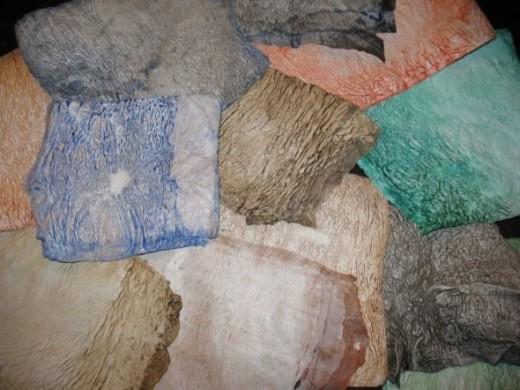 Painted Plastic Pieces
