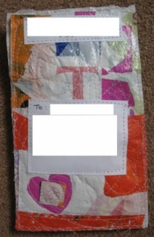 Stitched Plastic Envelope