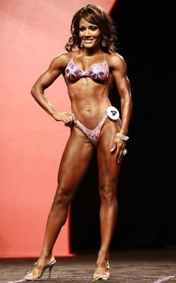 IFBB Figure - Cheryl Brown
