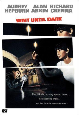 Audrey Hepburn in Wait Until Dark. An Alfred Hitchcock movie.