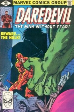 Daredevil 163 Hulk