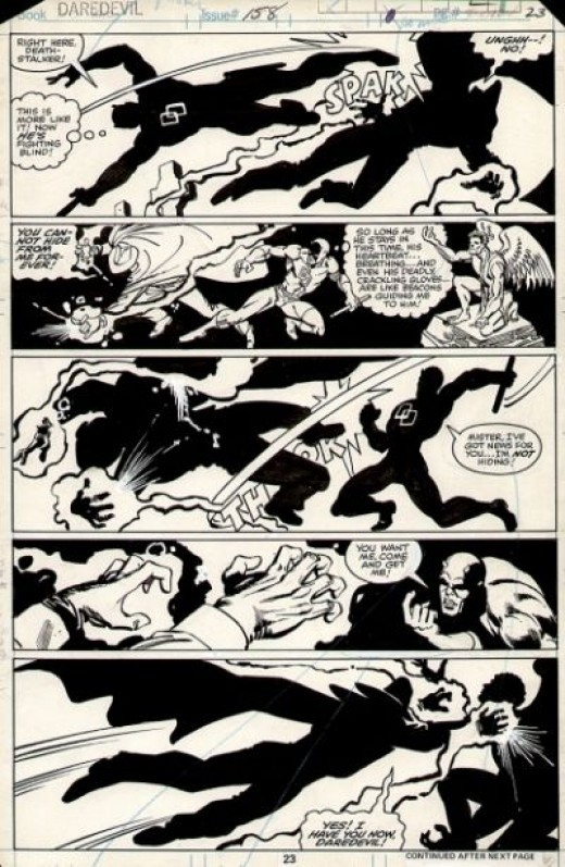 Daredevil vs. the Death-Stalker From Issue No. 158