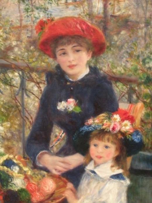 Art Institute Two Sisters Renoir