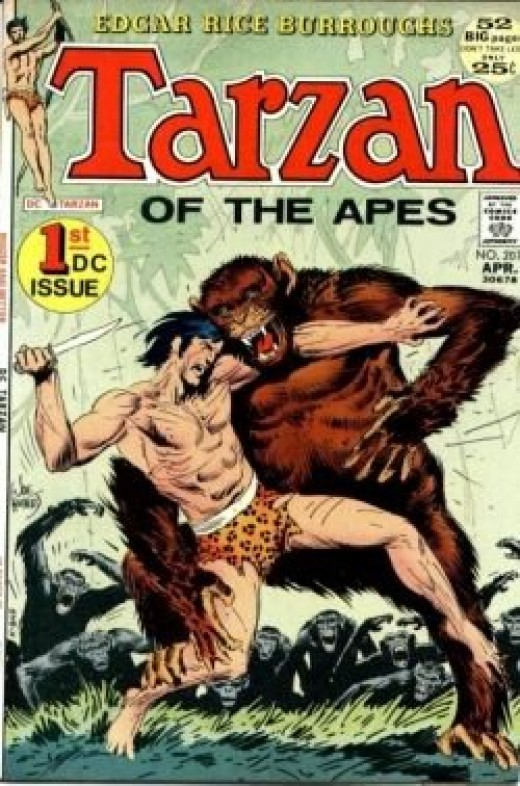 Joe Kubert Tarzan
