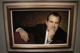 National Portrait Gallery Nixon